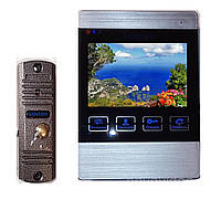 Домофон цветной SW-406 с панелью вызова с записью по движению, фото 1