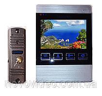 Домофон цветной SW-406 с панелью вызова с записью по движению