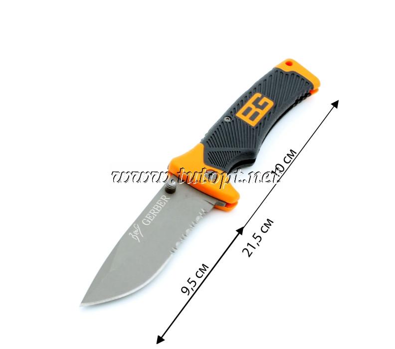 Нож складной Bear Grylls Gerber EE-7 с Серейтором