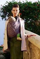 Слинг-шарф DIVA MILANO Barocco Napoletano Viola (46 % льна, 54 % хлопка, ширина 82 см) (4,2 м), фото 1