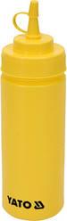 Диспенсер для холодных соусов желтый 350 мл YatoGastro YG-00551