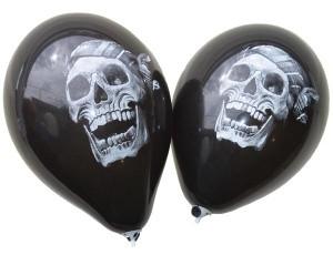 """Кулька 12"""" """"Череп"""" латексна на Хелловін, 30 см Шарик воздушный """"Череп"""" резиновый на хэллоуин"""