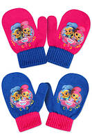 Варежки для девочек оптом, Disney, 10*13 см,  № 800-558