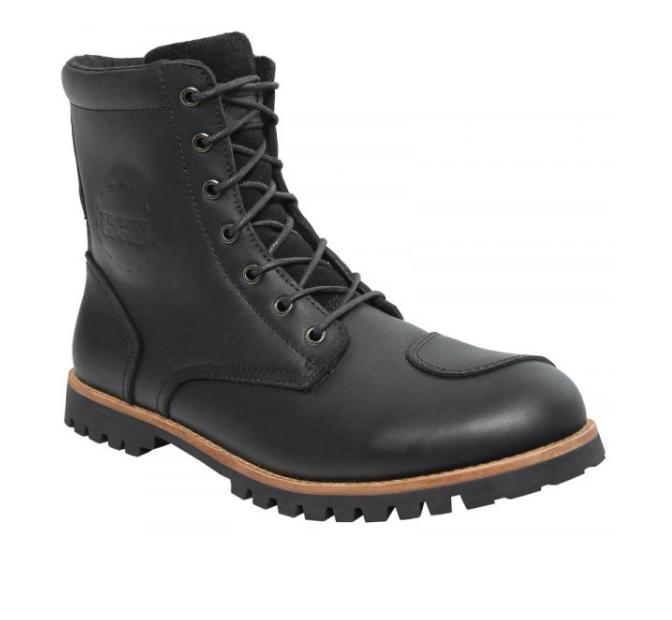 Мотоботы кожаные IXS Olied Leather (Black)