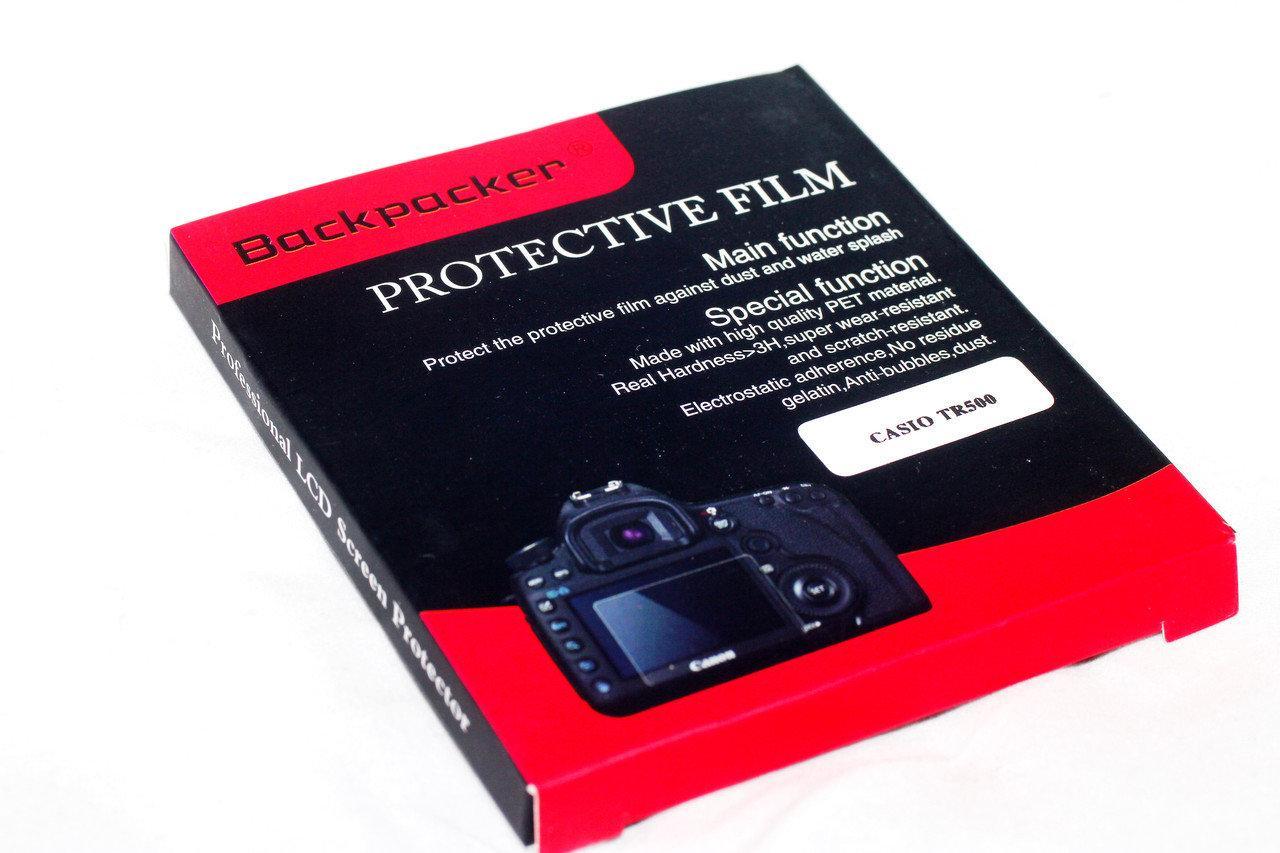 Защитное стекло Backpacker для LCD экрана фотоаппаратов Olympus TG-630 ( на складе )