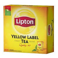 """НАБІР Чай """"Ліптон"""" 100п*2г + 25п*2г (1/12)"""