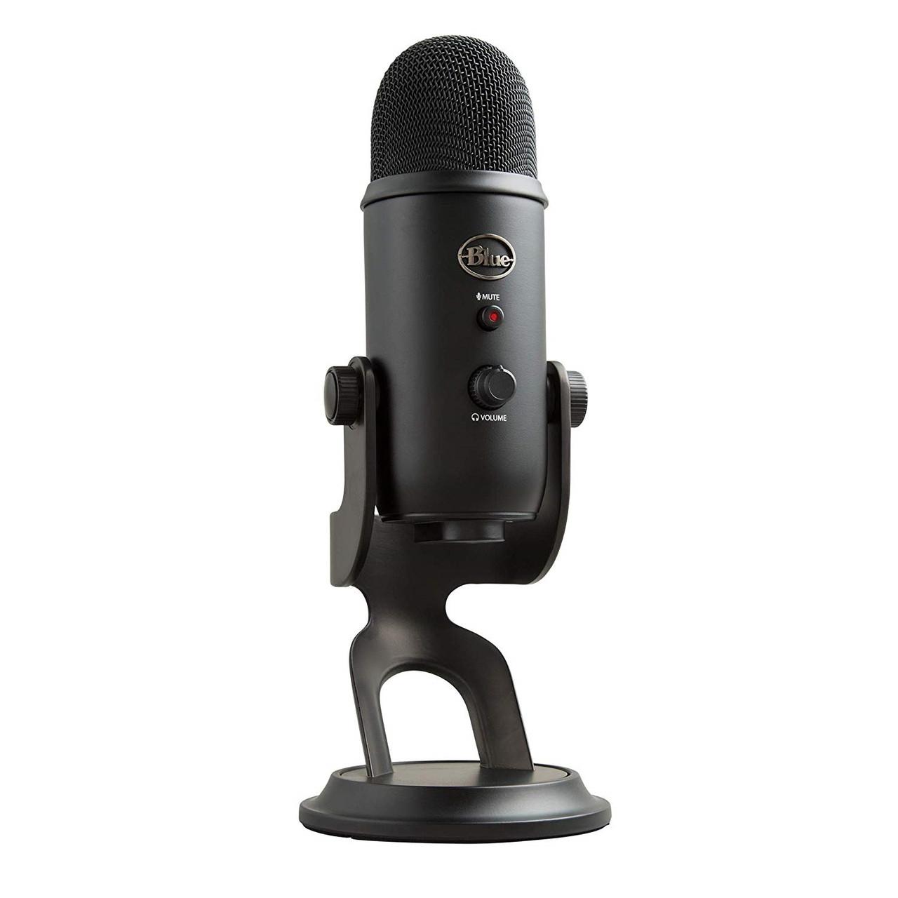 Blue Yeti-USB Микрофон - Черный