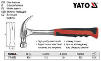 Молоток столярний YATO Польща m=450 г l=315 мм YT-4570