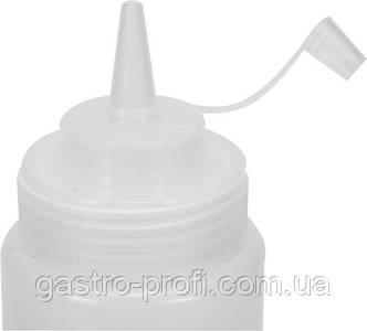 Диспенсер для холодных соусов прозрачный 350 мл YatoGastro YG-00552, фото 2