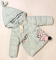 Зимняя куртка для девочек 110-116