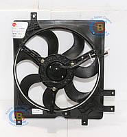 1016003507 Вентилятор радиатора вторичный #5 CK/MK (Оригинал) GEELY СК/МК 1.5L на 5 крепл., фото 1