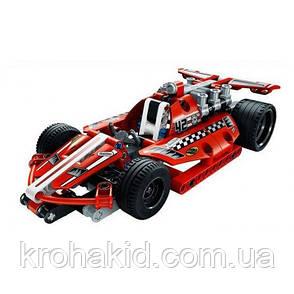 """Конструктор Decool 3412 (аналог Lego Technic 42011) """"Гоночный автомобиль"""" 158 дет, фото 2"""
