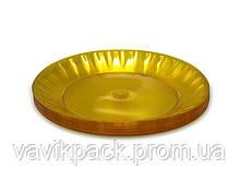 Стекловидная тарелка 205 мл, Юнита, 10 шт\пач