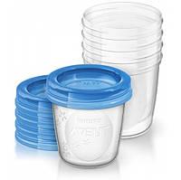 Avent Контейнеры для грудного молока (180мл х 5) SCF619/05