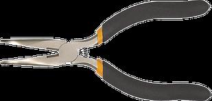 Плоскогубцы прецизионные удлиненные изогнутые 130 мм TOPEX 32D723