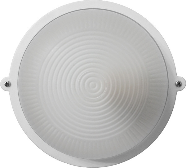 Світильник ЖКГ НВП-65 ПС-1001-11-0/1 коло білий опал плафон IP65 Е27