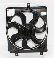 1016003508 Вентилятор радиатора первичный #3 CK/MK (Оригинал) GEELY СК/МК 1.5L на 3 крепл., фото 1