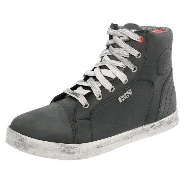 Мотоботы IXS Sneaker Nubuk-Cotton (Grey)