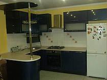 Кухня МДФ глянец 2200*2800*1600мм 4