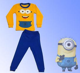 Пижама для мальчика, котон 100% , Украина, Детки- текс, рр. 92-98,  арт. 0294,