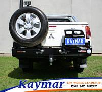 Силовой задний бампер Kaymar на Mitsubishi L200