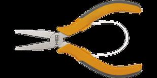 Щипцы прецизионные плоские прямые 130 мм NEO 01-105