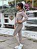 """Детский ангоровый спортивный костюм """"NICE"""" на флисе с капюшоном (2 цвета), фото 2"""