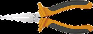 Плоскі щипці прямі 160 мм NEO 01-019