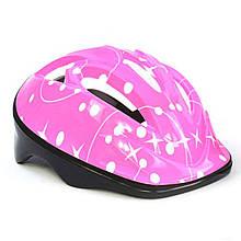 Шлем защитный F 18455 розовый
