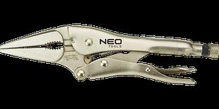 Кліщі затискні подовжені 230 мм NEO 01-218