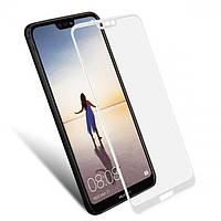 Защитное стекло Mocolo для Huawei Ascend P20 Lite / Nova 3E Full Cover White (0.33 мм)