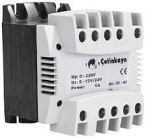 Трансформатор переменного напряжения понижающий 220 / 230 в до 12в 24 вольт, 75 ВА