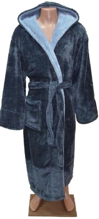 Махровый халат с капюшоном для подростка 12-14