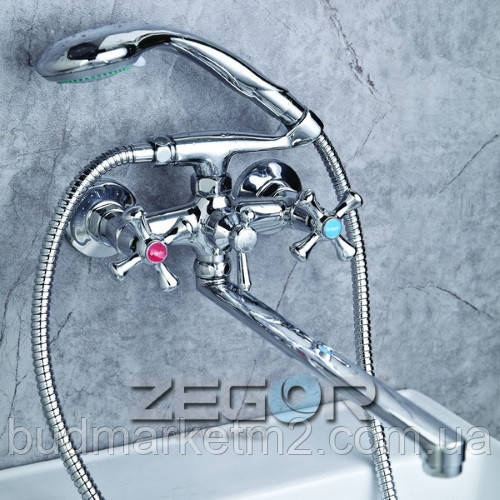 Смеситель Zegor DTZ7- А827 TROYA