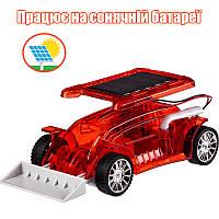 """Конструктор на солнечной батарее, """"Машинка - Бульдозер"""", Same Toy"""