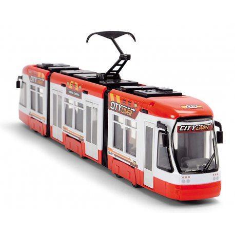 Трамвай игрушечный Dickie 3749017 красный