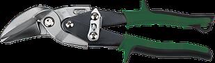 Ножиці по металу сильногнутые ліві 240 мм NEO 31-062