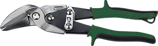 Ножницы по металлу сильногнутые левые 240 мм NEO 31-062