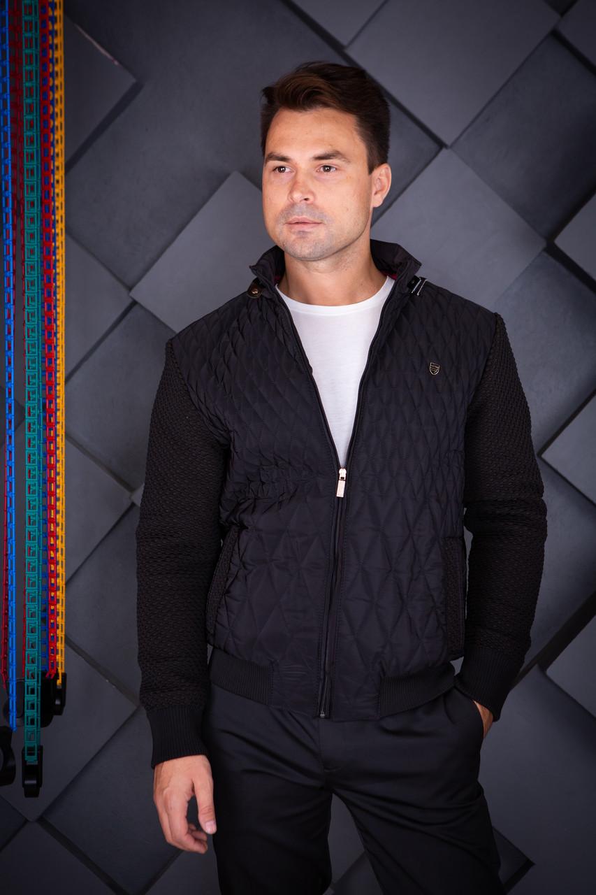 Куртка демисезонная мужская Oscar Fur 04 Темно-Синий