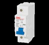 Модульний автоматичний вимикач YCB1-125 1Р, 100А, 6kA, тип D