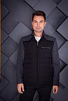 Куртка весна/осень Oscar Fur 09 Черно-Серый