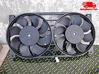 Электровентилятор охлаждения радиатора  ВАЗ 21214 НИВА двойной в сборе (DECARO). 21214-1300024-43