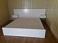 """Біле дерев'яне ліжко """"Токіо"""" із натурального дерева, фото 7"""
