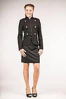 Пиджак школьный для девочек-подростков, размеры 34, 36, 38, 40. (П-66)