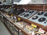 Стеллажи в магазин под встроенную технику. Оборудование для магазина бытовой техники индивидуальные решения, фото 1