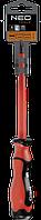 Отвертка шлицевая 1000В 2,5x75мм NEO 04-150