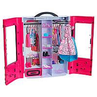 Игровой набор Шкаф-чемодан для одежды Стильный Barbie (DMT57)