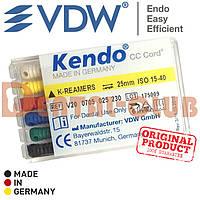 K-reamer KENDO (к-ример кендо) від VDW (Кендо), довжина 25мм, ISO розмір 15-40