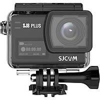 Action Camera SJCAM SJ8 Plus с разрешением Native 4K и полной комплектацией (Черный), фото 1
