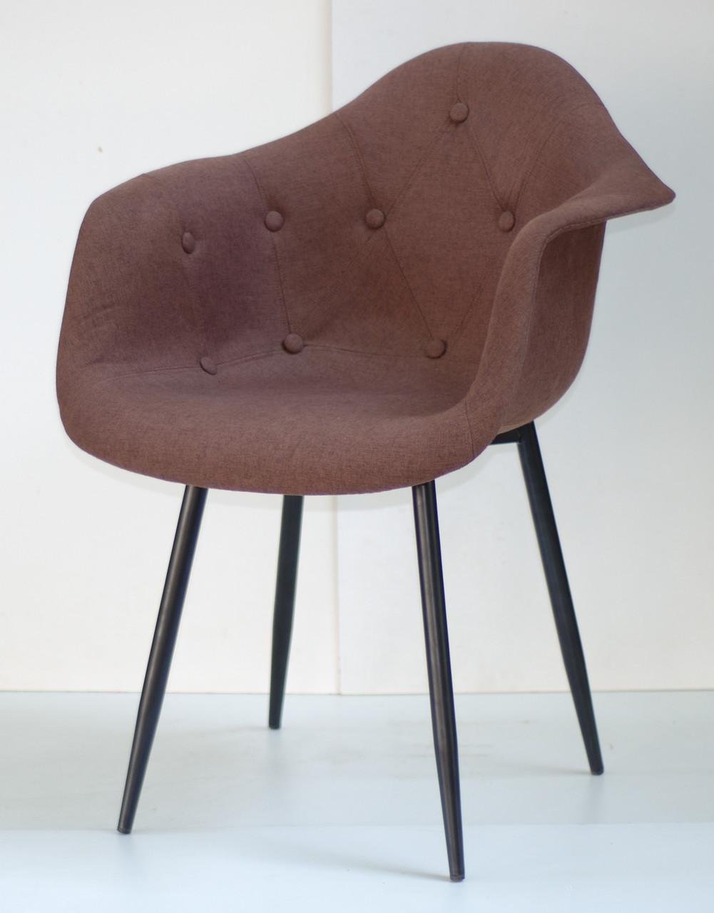 Кресло Leon MBK Вискоза, коричневое